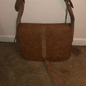STUNNING Steve Madden Leather Fringe Shoulder Bag